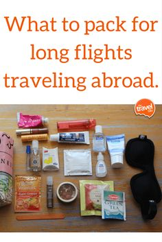These 3 simple tips for long flights are how I cope with being in the air for extended hours of time. Perfect for traveling abroad. From TheTravelBite.com. ~ https://thetravelbite.com
