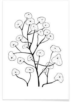 Kapuzinerkresse als Premium Poster von Studio Karamelo | JUNIQE