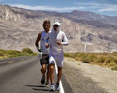 Photo Gallery from crewing for Dean Karnazes at the Badwater 135: World's Toughest Footrace