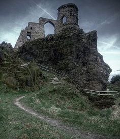 Mow Cop Castle, England