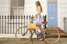 Fashionable bicycling