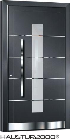 haustüren aluminium | Details zu Aluminium Haustür Alu Haustüren Tür Türen Vollständig ...