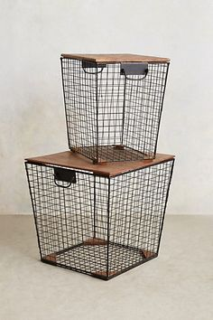 Stow Bin Side Tables