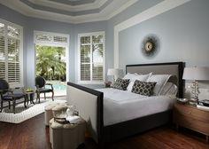 Chic master bedroom by Krista Watterworth Design Studio