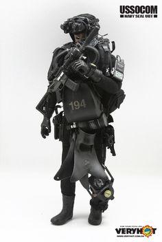 [VH-1036] Very Hot USSOCOM Navy Seal UDT 1:6 Figure Accessory - EKIA Hobbies