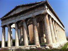 Hefestión o Templo de Hefesto en el Ágora de Atenas. #Viajar #viajes #destinos #turismo #atenas #AthensTravel #AgoraAtenas