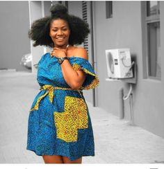 23 Magnificent Ankara Styles For Women - Ravishing African Dresses. If you are looking for where you can get the classy Ankara dresses, African dresses, Ankara Styles For Women, Ankara Short Gown Styles, Short African Dresses, Latest African Fashion Dresses, African Print Dresses, Short Gowns, Ankara Fashion, African Print Clothing, African Print Fashion