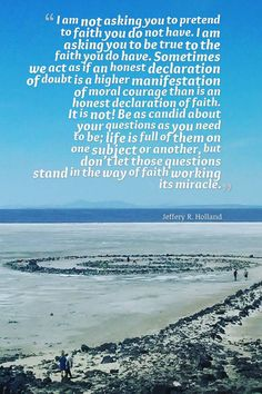Just what I needed to hear today... Elder Holland quote and the Spiral Jetty, Utah