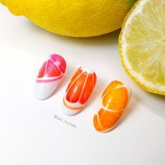 Fruit nail art ideas 🍊 Summer nail art ideas Fruit Nail Art, Nails Design, Summer Nails, Art Ideas, Instagram, Food, Meal, Essen, Hoods