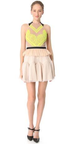Click Image Above To Buy: Three Floor Electro Pop Dress