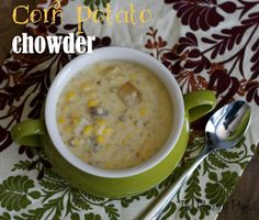 Some Fall Soup - Corn Potato Chowder