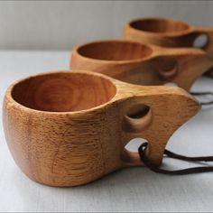 Hot Rubberwood Wooden Cup Survival Bushcraft Camping Kuksa Kasa Curly Mug Cup for sale online