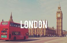 30 Things to do in London!