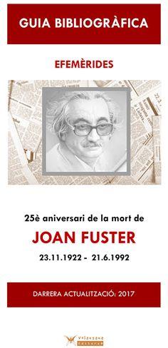 Bibliografia sobre l'obra de Joan Fuster