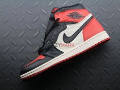 Air Jordan 1 Retro High OG 'Bred Toe' 555088 610; SIZE: EUR40-47.5; Check out from https://www.yeezymark.net/index.php/air-jordan/air-jordan-1-retro-high-og-bred-toe-555088-610.html