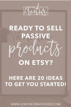 A passive income product is a great way to boost your Etsy income on autopilot. Let me give you 20 examples of passive income products so you can start making sales on autopilot. Starting An Etsy Business, Small Business Start Up, Craft Business, Business Tips, Online Business, Creative Business, Stock Photo Sites, How To Make Money, How To Get
