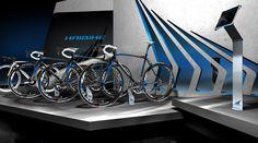 Haibike – Eurobike, Booth design by WHITE ELEMENTS , via Behance