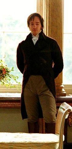 2005 Matthew Macfadyen as Mr Darcy in Jane Austen's Pride and Prejudice. Darcy Pride And Prejudice, Pride & Prejudice Movie, Matthew Macfadyen, James Dean, Mr. Darcy, Jane Austen Novels, Charming Man, Period Outfit, I Movie