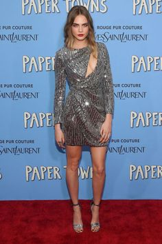 The 10 best dressed celebrities and models of the week: Cara Delevingne