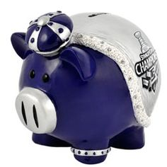 Los Angeles Kings 2012 Stanley Cup Champions Thematic Piggy Bank