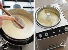 This is how you make the most delicious vanilla ice cream yourself, Ice Cream Pops, Make Ice Cream, Homemade Ice Cream, Vanilla Ice Cream, Baking Recipes, Dessert Recipes, Desserts, Gelato, Italian Ice