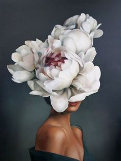 Painting by Amy Judd. - Alon Livne White Painting by Amy Judd. Painting by Amy Judd. Art Inspo, Painting Inspiration, Art Floral, Art Du Collage, Images D'art, L'art Du Portrait, Art Design, Surreal Art, Oeuvre D'art