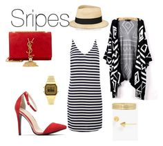 """""""stripes"""" by carole-weis on Polyvore"""
