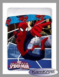 Narzuta SpiderMan - narzuta na łóżko nie tylko dla najmłodszych - Faro.