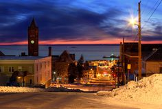 Winter. Duluth.