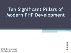 PHP development Need of the world