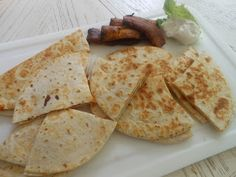 Quesadilla - quick, easy, portable - perfect for a day out.  Just Piddlin'