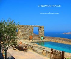 Villa Drakothea, is a unique rental property in Mykonos island in Greece. .The a mazing views that offers over the Aegean Sea and its other islands and the beauty of the architecture and all the elements inside and around the house makes it absolutely unique.