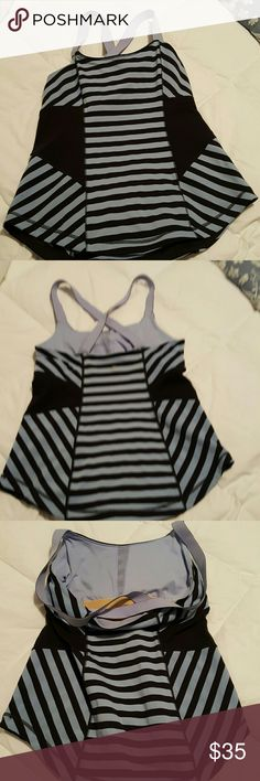 Lululemon Push er Limits Tank Beautiful tank, flatters any body shape,  practically new, tag is missing due to discomfort, but fits a 6. lululemon athletica Tops Tank Tops