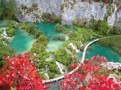 Plitvice Lakes National Park, Croatia's most popular tourist attraction