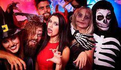 Fiestas representativas de Halloween en los principales teatros de Girona, disfraces y temáticas representadas en obras divertidas. www.telonesmadisson.net (telones para teatros)