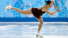 Canada's Kaetlyn Osmond (Marystown, Newfoundland and Labrador) finished fifth in the ladies' free at the Sochi Olympics Sunday, February 9, 2014 (Adrian Dennis/AFP/Getty Images)