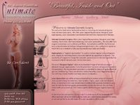 Bellevue Webdesign - Inimate Cosmetic Surgery