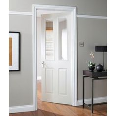 White wood internal doors with glass panels for connecting kitchen to living room doors & https://www.google.co.uk/search?q\u003dinternal doors | Lounge ...