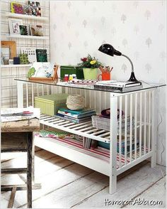 Eski Bebek Beşiklerinden 13 Yeni ve Dekoratif Mobilya!