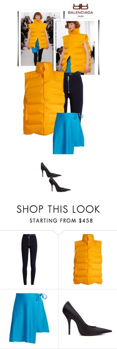 """""""Spring Rain"""" by fl4u ❤ liked on Polyvore featuring Balenciaga, Versace, rainyday and trendsreport"""