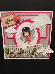 Fairies, Stamp, Sweet, Cards, Blog, Inspiration, Design, Products, Stamps