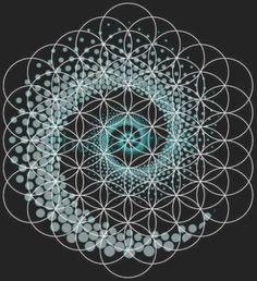 Tattoo Geometric Mandala Sacred Geometry Design 44 Ideas For 2019 Tattoo Geometric . Geometric Flower, Flower Mandala, Geometric Art, Mandala Art, Sacred Geometry Symbols, Geometric Symbols, Sacred Geometry Tattoo, Sacred Art Tattoo, Dotwork Tattoo Mandala