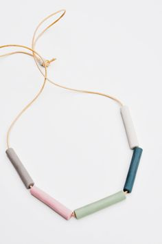 Pastel Spectrum Necklace