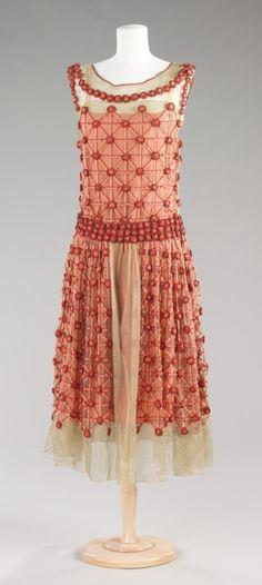 "Jeanne Lanvin ""Roseraie"" dress ca. 1923 via The Costume Institute of the Metropolitan Museum of Art"