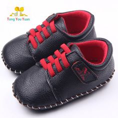 Baby boy girl fine PU hand stitching soft bottom baby shoes pedometer shoes learning walking shoes first walk Toddler shoes xz88
