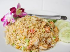 Lightened Up Asian Recipe: Healthy Shrimp Fried Rice - 12 Tomatoes