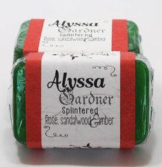 Alyssa Gardner, Splintered, A. Wild Honeysuckle, Custom Book, Green Soap, Glycerin Soap, Bar Soap, Soap Making, Fragrance Oil, Biodegradable Products, Make It Yourself