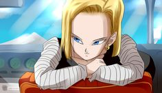 The beautiful Android 18