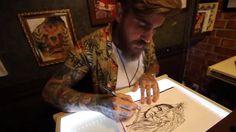 No YouTube tatuadores tiram dúvidas e mostram o dia a dia no estúdio