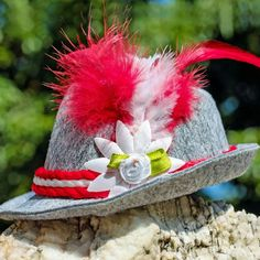 Check out our stunning new collection of feather hats that fits well with headgear and other colour costume for an angelic look. Hat Tip, Halloween Mesh Wreaths, Feather Hat, Feather Crafts, Ostrich Feathers, Custom Hats, Cool Hats, Hat Making, Craft Items